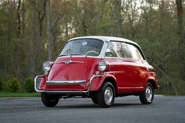 1958 BMW Isetta 600 Values | Hagerty Valuation Tool®