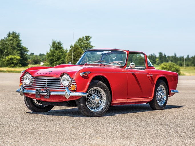 1966 Triumph Tr4a Values Hagerty Valuation Tool