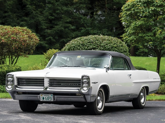 1964 Pontiac Bonneville Values | Hagerty Valuation Tool®