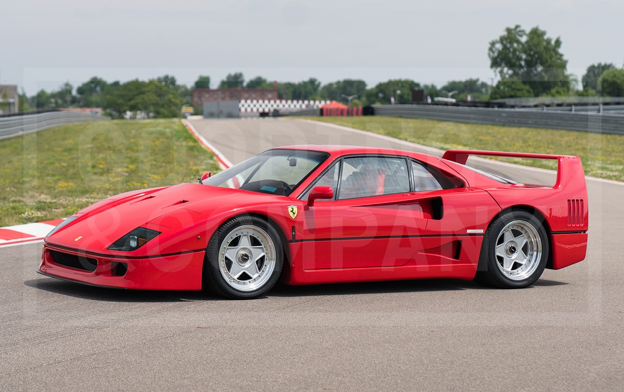 Ferrari F40 For Sale >> 1991 Ferrari F40 Values Hagerty Valuation Tool