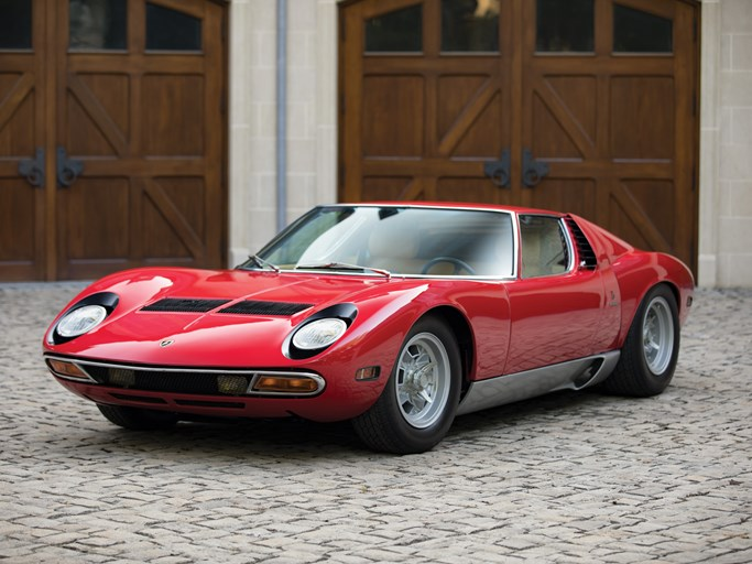 1969 Lamborghini Miura P400 Values Hagerty Valuation Tool
