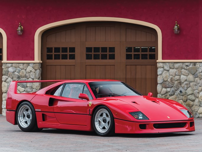 Ferrari F40 For Sale >> 1992 Ferrari F40 Values Hagerty Valuation Tool