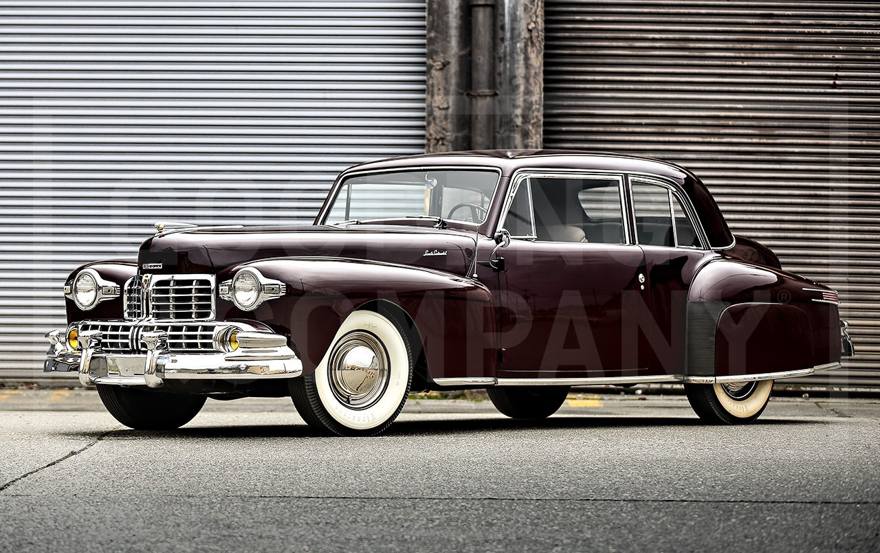 1947 Lincoln Continental Values Hagerty Valuation Tool