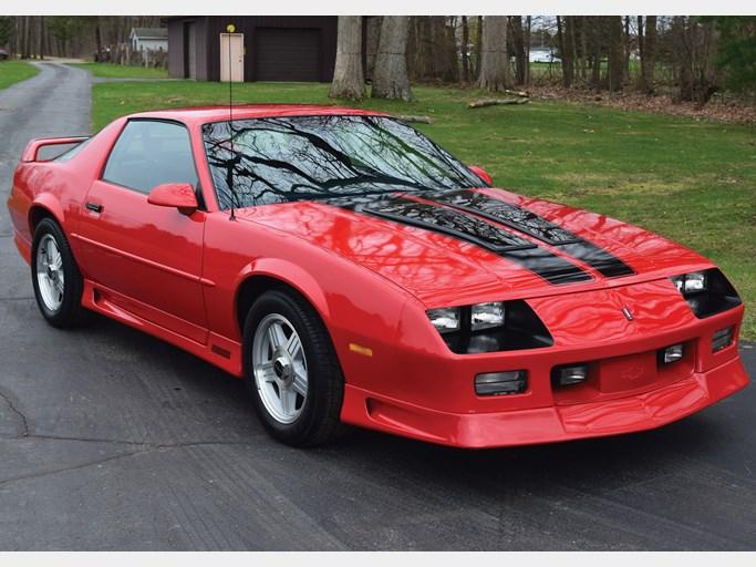 1992 chevrolet camaro z/28 sport coupe 8-cyl  350cid/245hp tpi