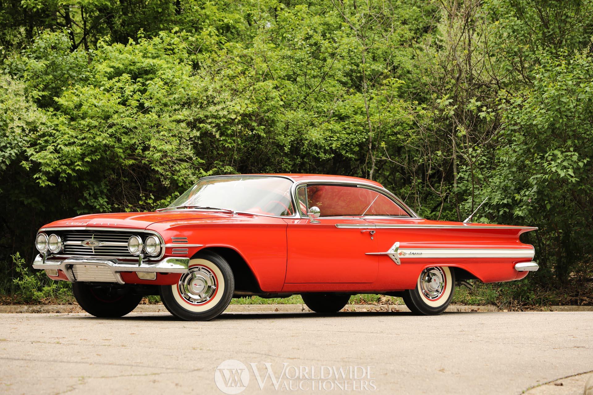 1960 Chevrolet Impala Values Hagerty Valuation Tool