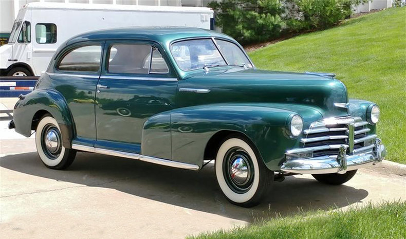 1948 Chevrolet Stylemaster Values Hagerty Valuation Tool