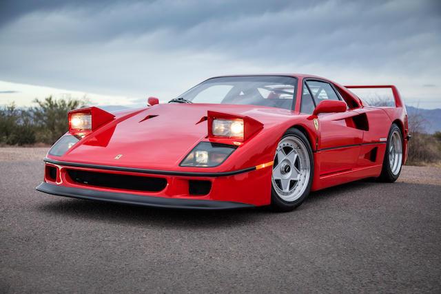 1991 Ferrari F40 Values Hagerty Valuation Tool