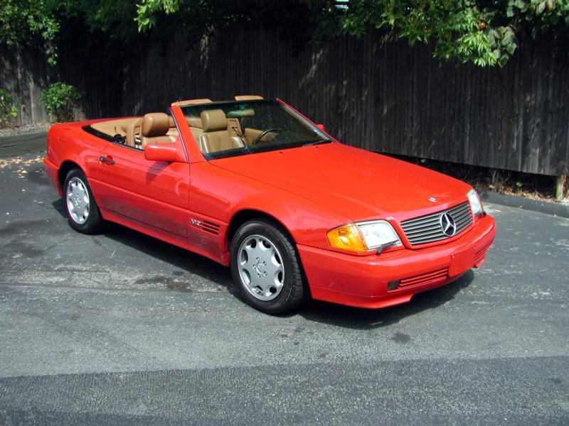 Image result for 1990 mercedes 500sl