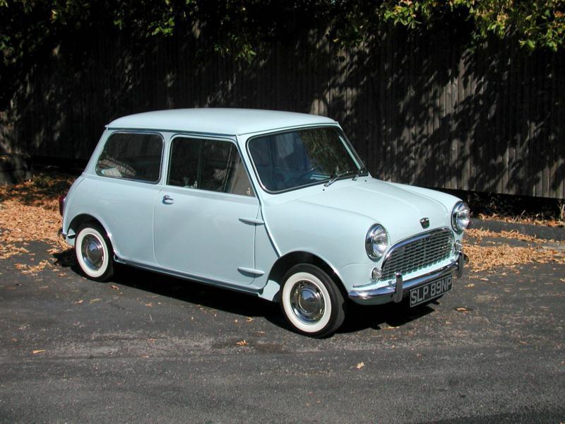 1966 Morris Mini Minor Values Hagerty Valuation Tool