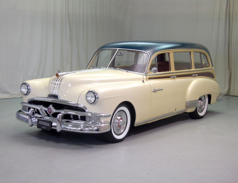 1951 Pontiac Streamliner Wagon