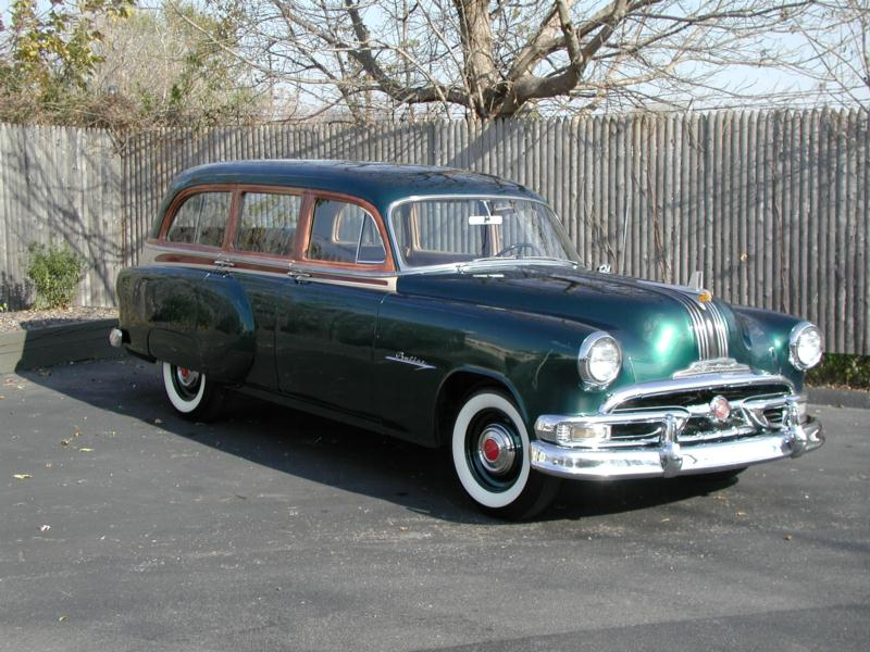 1953 Pontiac Chieftain Wagon