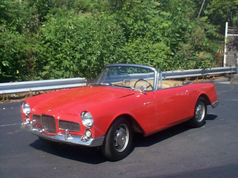 Hagerty Car Values >> 1960 Facel Vega Facellia Values | Hagerty Valuation Tool®