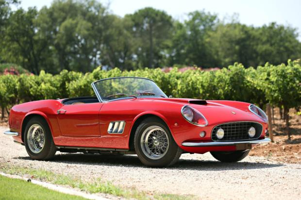 Ferrari california 1960 price