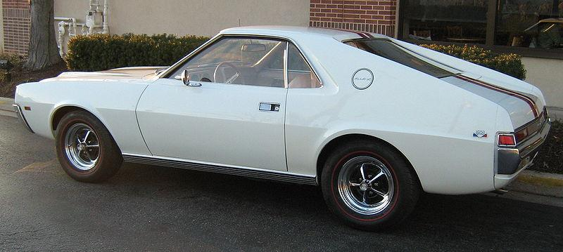 1968 American Motors AMX Values Hagerty Valuation Tool®