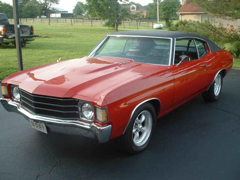 1972 Chevrolet Chevelle Ss 454 Values Hagerty Valuation