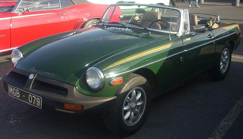 1979 MG MGB Mk IV Values
