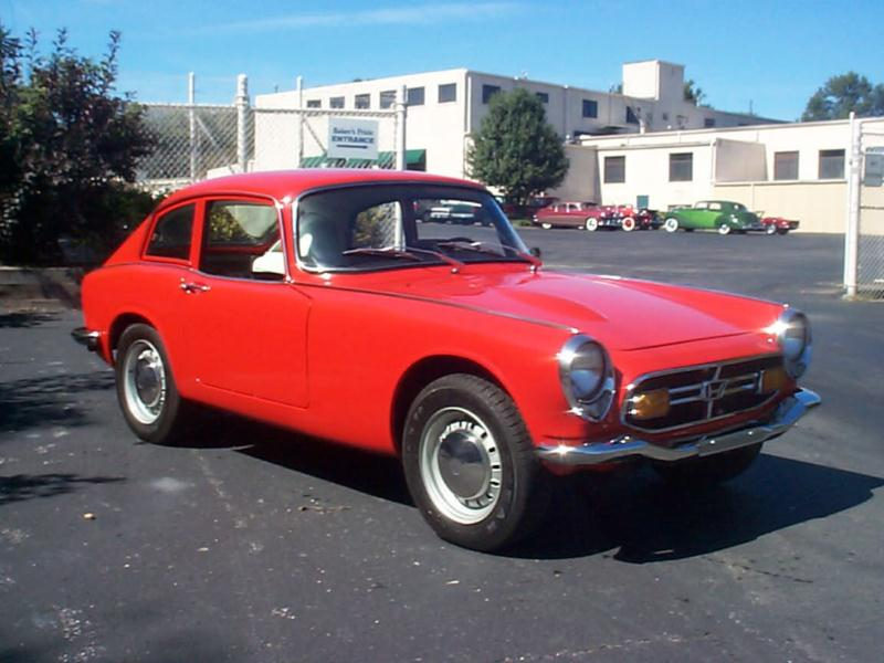 1967 honda s800 values hagerty valuation tool. Black Bedroom Furniture Sets. Home Design Ideas