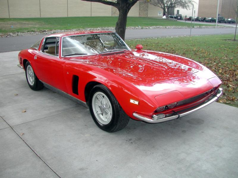 1971 Iso Grifo SII Coupe