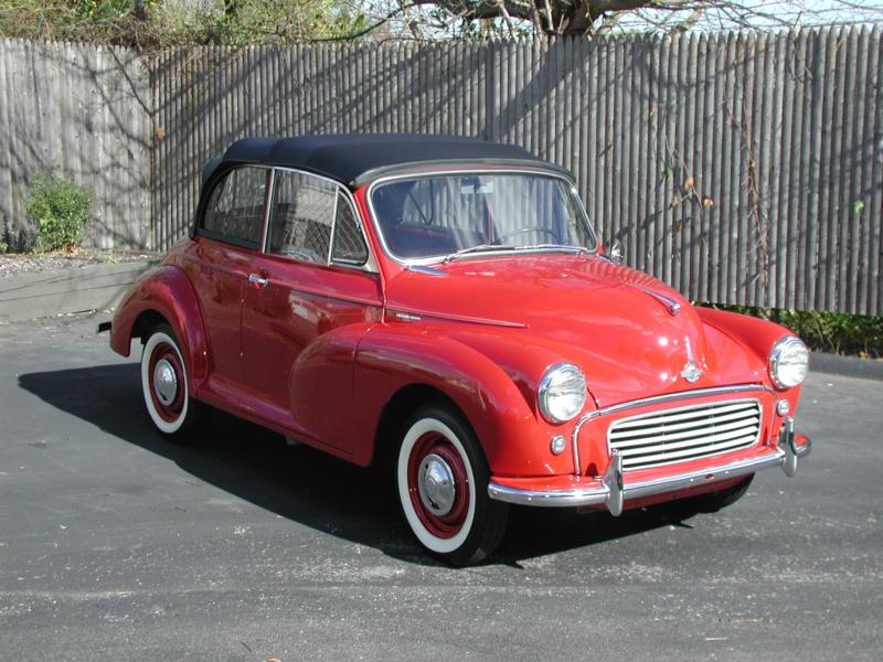 1960 Morris Minor 1000 Values Hagerty Valuation Tool 174