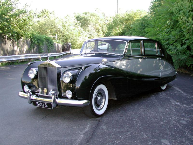 1956 Rolls-Royce Silver Cloud I Standard Steel Values | Hagerty ...