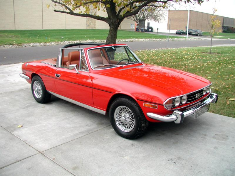 1972 Triumph Stag Values Hagerty Valuation Tool 174