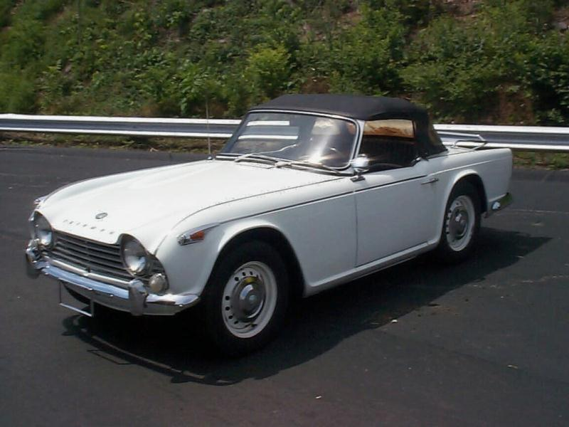 1966 triumph tr4a Values   Hagerty Valuation Tool®