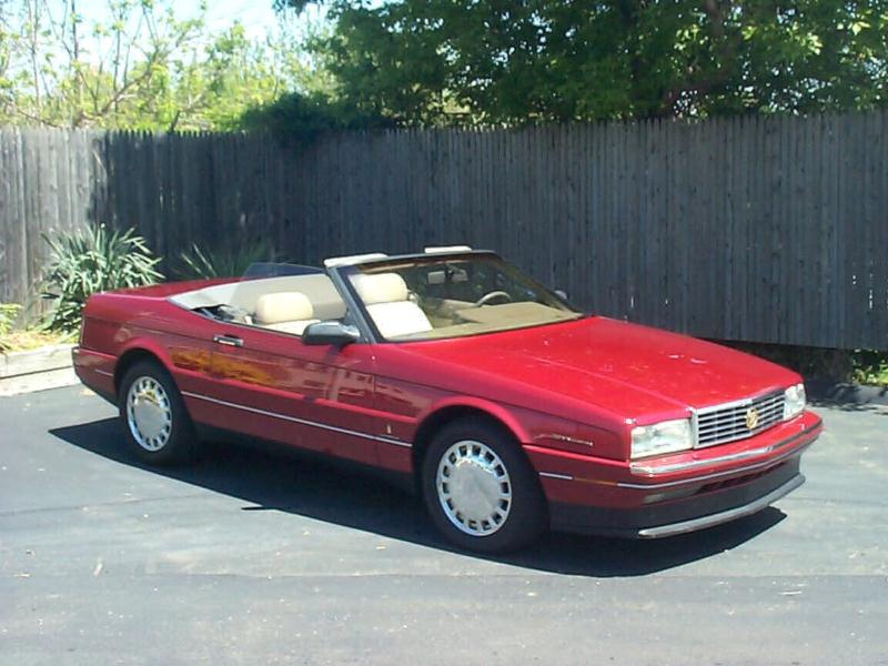 Hagerty Classic Car Values >> 1993 Cadillac Allante Values Hagerty Valuation Tool
