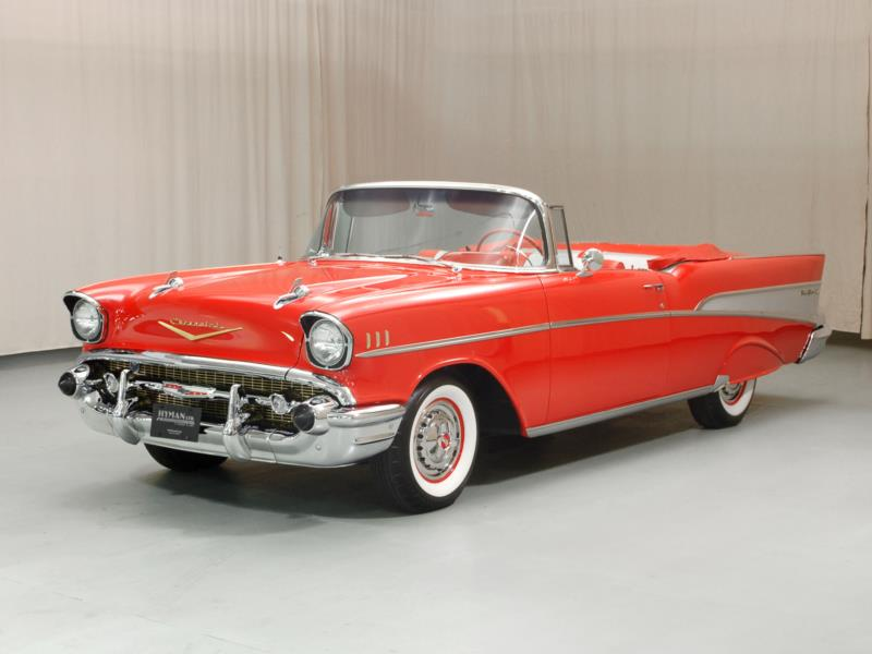 Hagerty Car Value >> 1957 chevrolet bel air Values | Hagerty Valuation Tool®