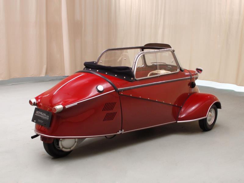 Hagerty Car Values: 1956 Messerschmitt Kr200 Values