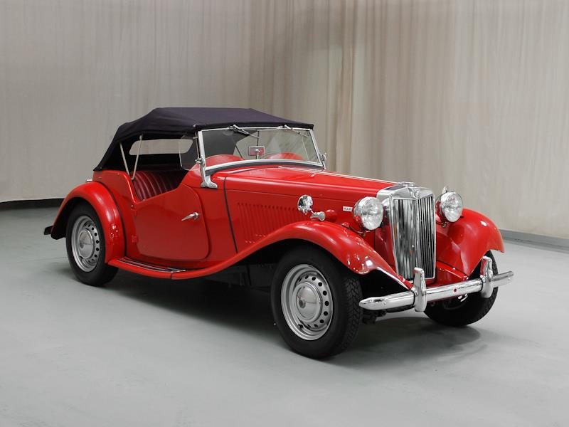 Hagerty Car Values >> 1952 MG TD Values | Hagerty Valuation Tool®