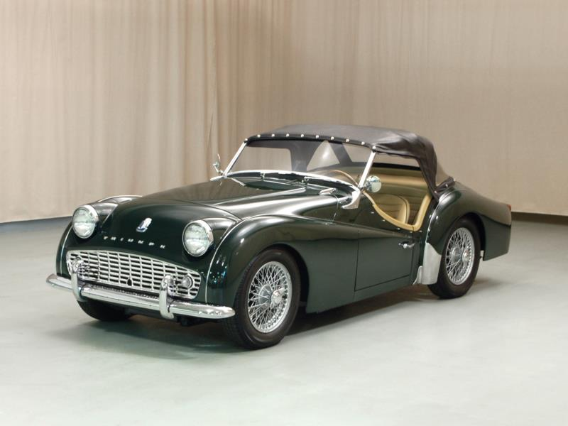 1956 Triumph Tr3 Values Hagerty Valuation Tool