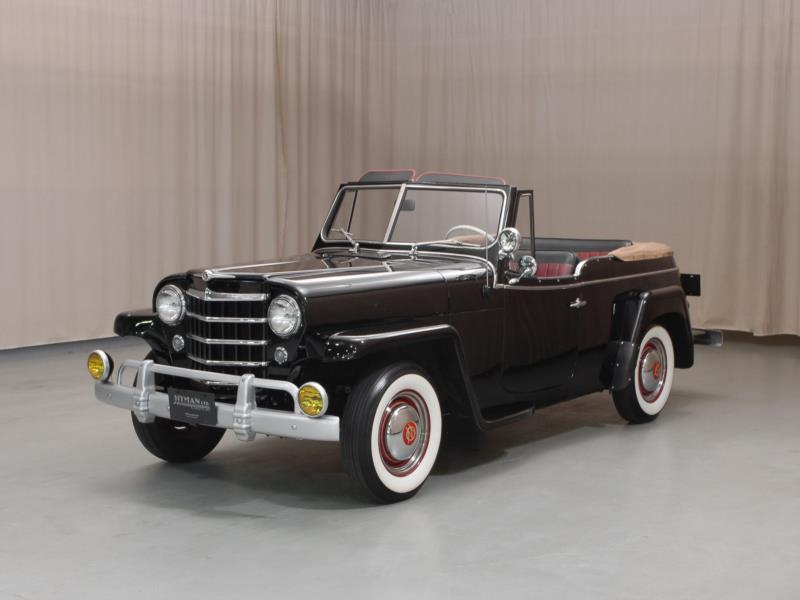 1950 Willys Jeepster Values | Hagerty Valuation Tool®