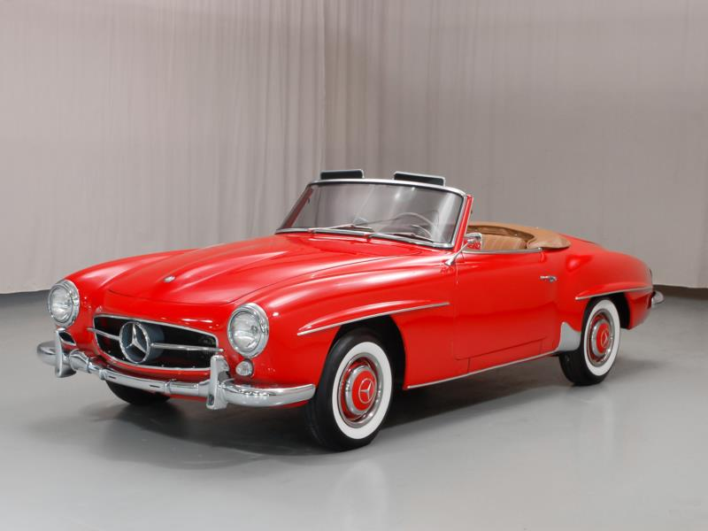 1961 Mercedes Benz 190sl Values Hagerty Valuation Tool