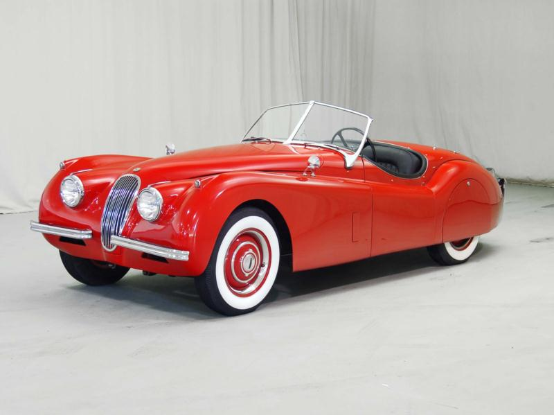 1954 Jaguar XK 120 Drop Head Coupe
