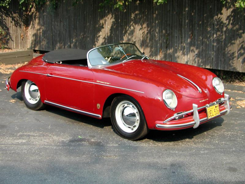 1958 Porsche 356A 1600 Super Speedster