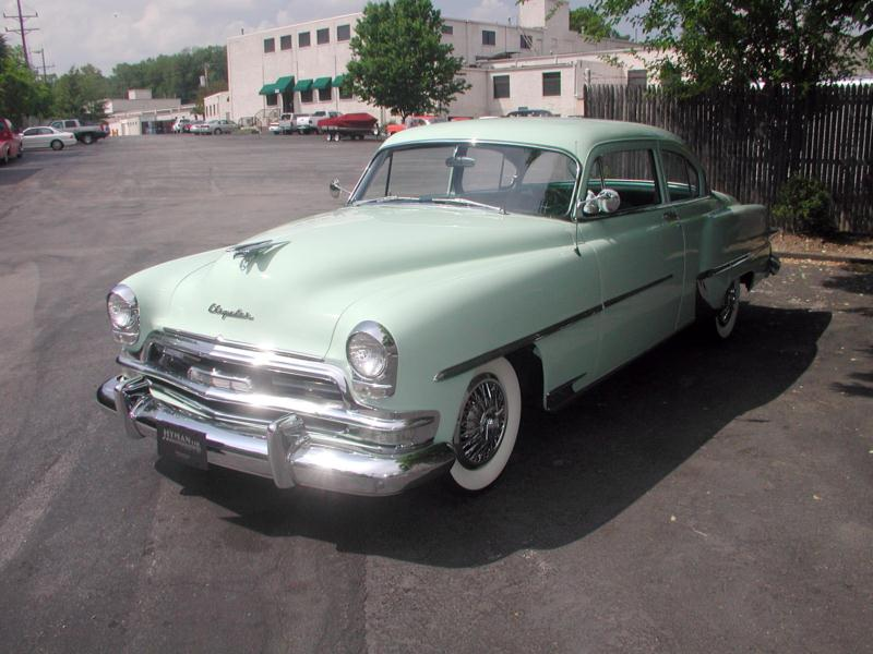 1953 Chrysler Windsor DeLuxe Values | Hagerty Valuation Tool®