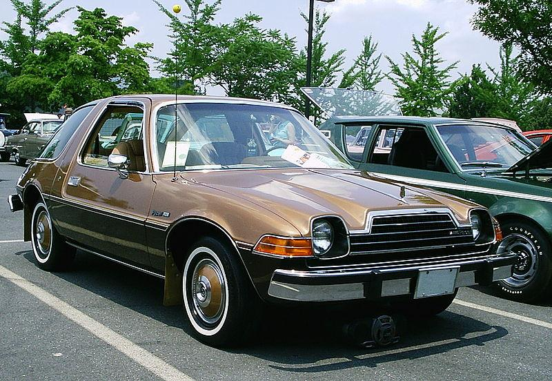 Px Amc Pacer Dl Coupe Two Tone Brown Ext