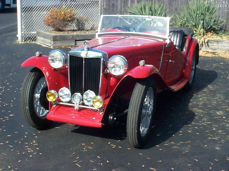1959 MG TC  Convertible