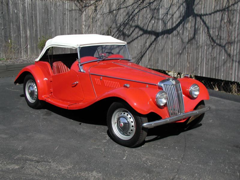 1955 MG TF Values | Hagerty Valuation Tool®