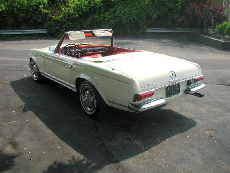1966 mercedes benz 230sl values hagerty valuation tool for Mercedes benz 230sl