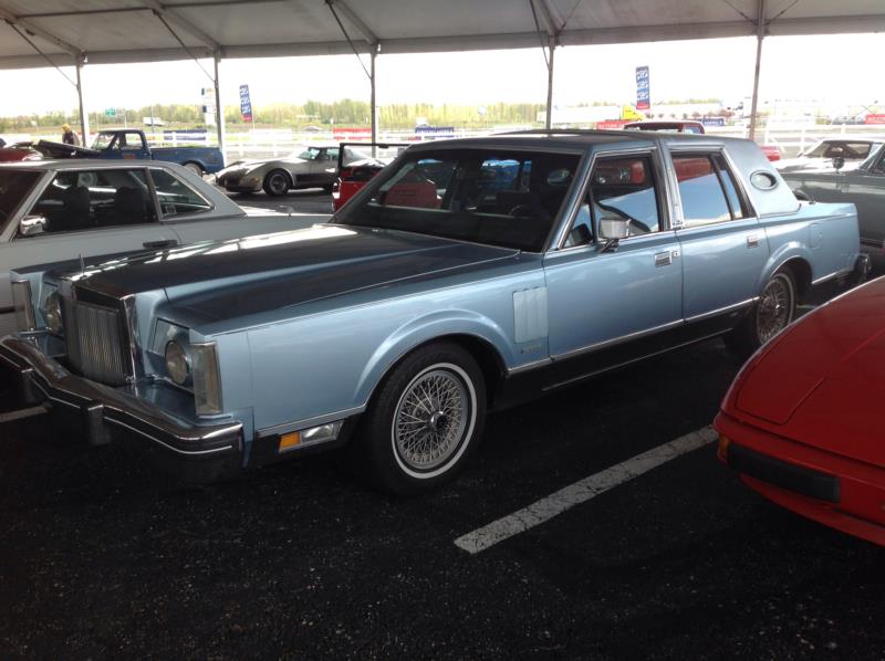 1987 Lincoln Continental Values Hagerty Valuation Tool