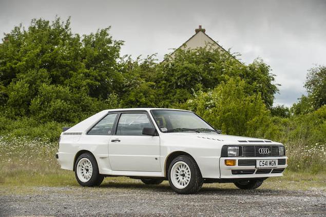 Audi Sport Quattro >> 1986 Audi Sport Quattro Values Hagerty Valuation Tool