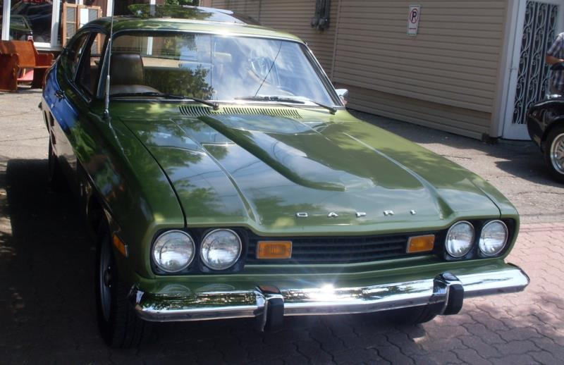 1974 Mercury Capri Values Hagerty Valuation Tool