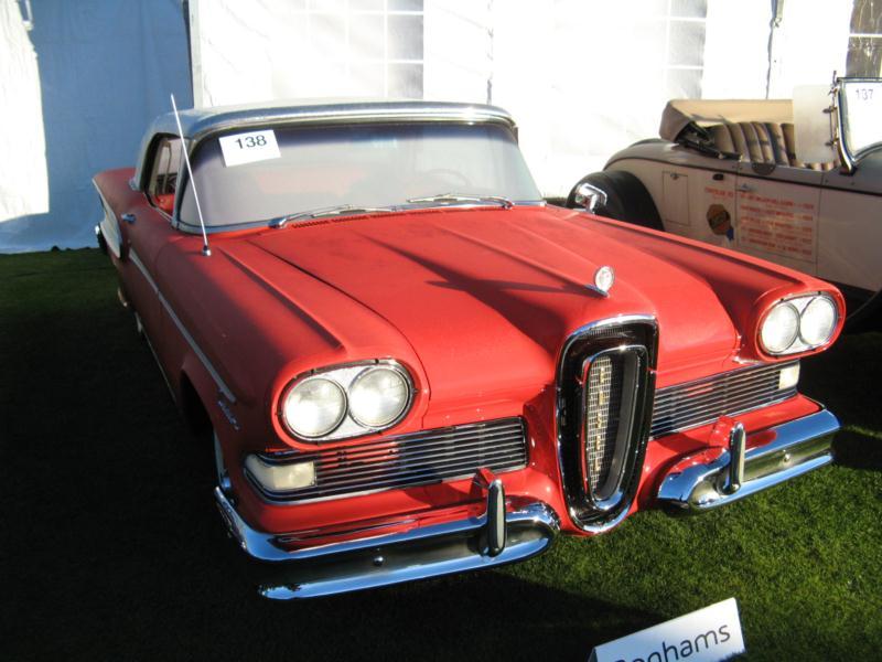 1958 Edsel Ciatation Convertible