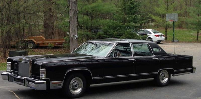 1978 Lincoln Continental Values Hagerty Valuation Tool
