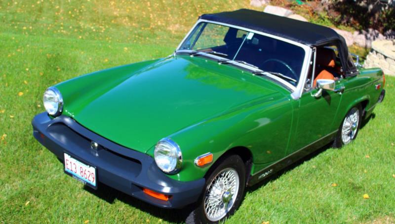 1977 MG Midget 1500 Convertible Courtesy Mecum Auctions