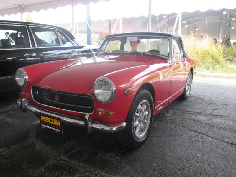 1968 MG Midget Mk III Values | Hagerty Valuation Tool®
