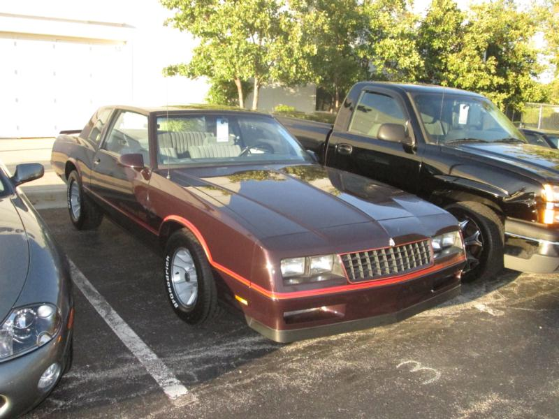1987 Chevrolet Monte Carlo CL Values | Hagerty Valuation Tool®