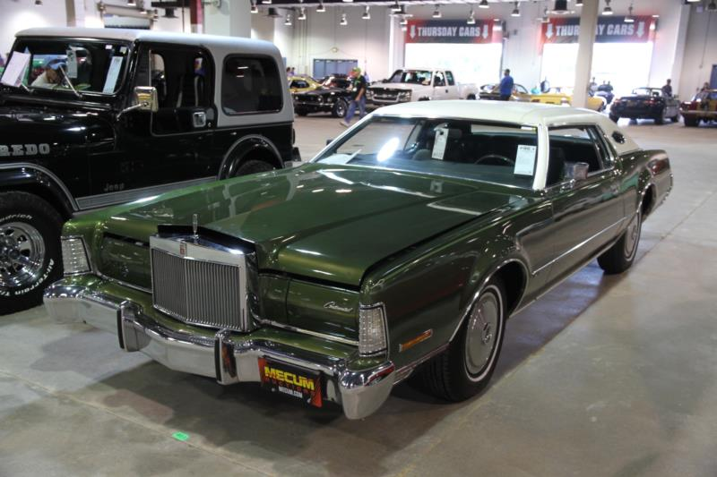 1972 Lincoln Continental Mk Iv Values Hagerty Valuation Tool