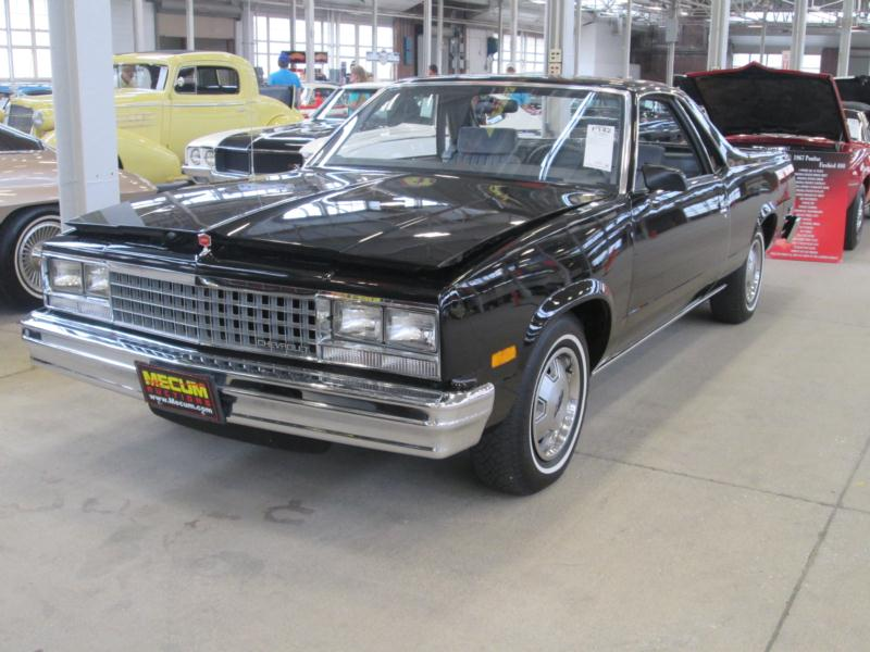1986 Chevrolet El Camino Values  Hagerty Valuation Tool
